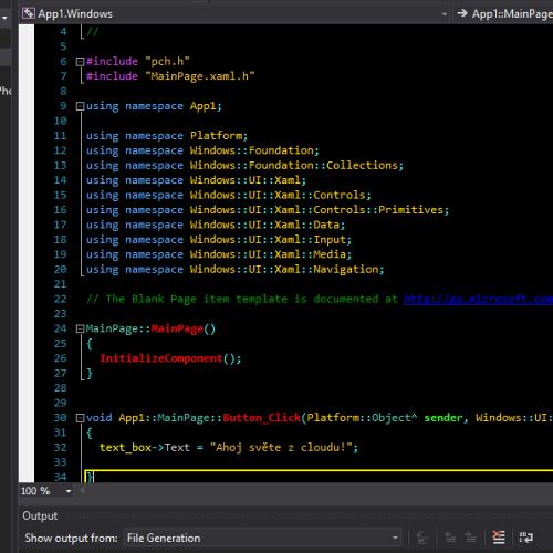 Programování Visual C++